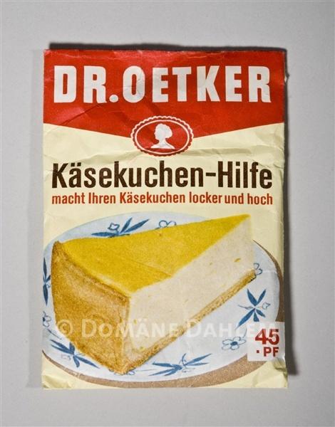 Packchen Kasekuchen Hilfe Von Dr Oetker Stiftung Domane