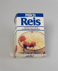 "Verpackung ""Milch Reis"""