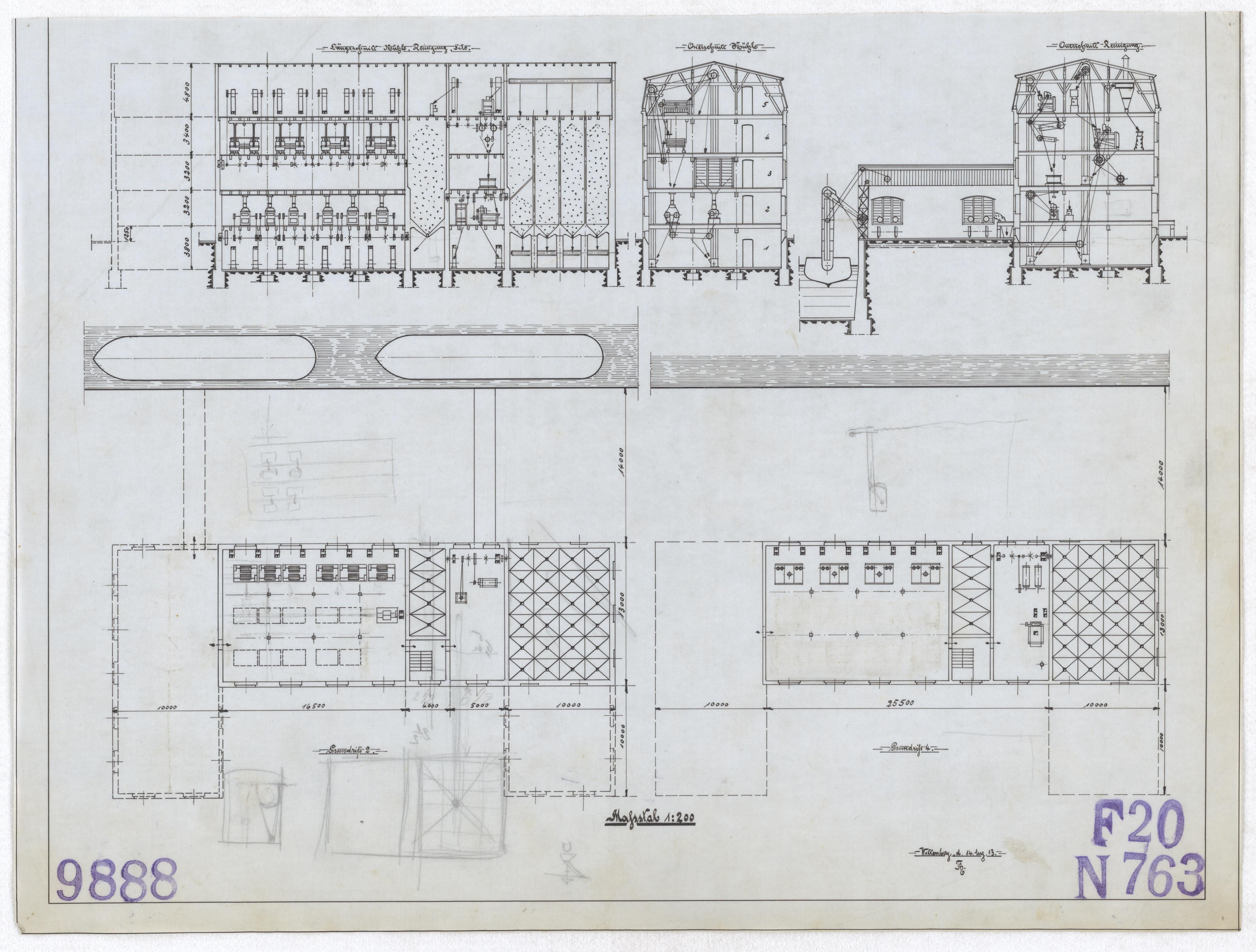 Technische Zeichnung : [Projekt zum Neubau einer elektrischen ...