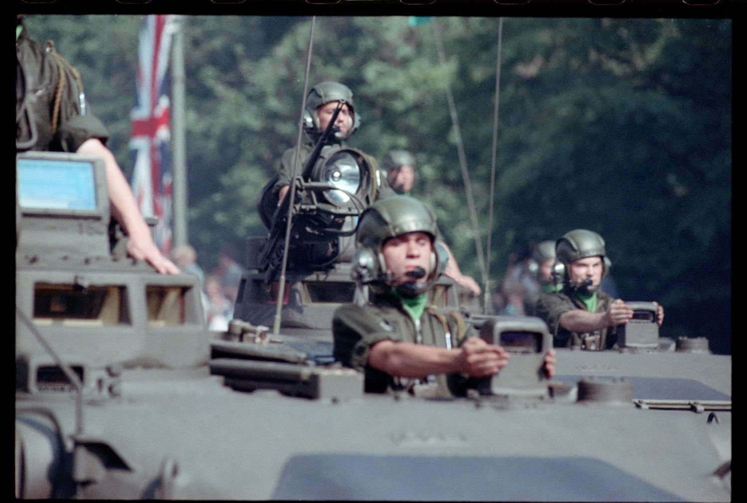 Fotografie: Allied Forces Day Parade in Berlin-Tiergarten (AlliiertenMuseum/U.S. Army Photograph Public Domain Mark)