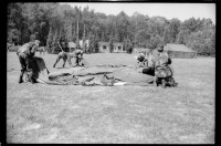 s/w-Fotografie: Military Stakes Competition des VII Corps auf dem ...