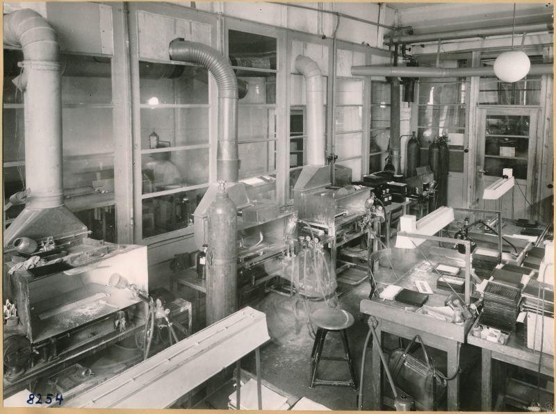 Alte Räume der Kathode; Foto 1953