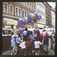 Diapositive: Dresdener Straße, September 1984