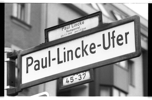 Kleinbildnegativ Paul Lincke Ufer Manteuffelstraße 1985 Fhxb